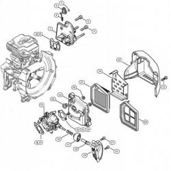 Stihl FS410 gaźnik 41471200621