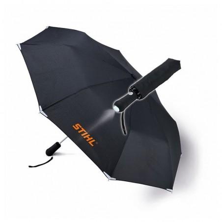 Parasol kieszonkowy z latarką LED