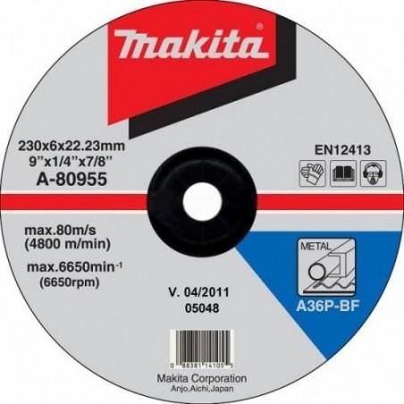 Makita TARCZA SZLIFIERSKA 230x6x22mm  A-80955