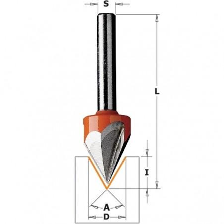 CMT Frezy literujące (60°), (35°) HM D12,7 S8