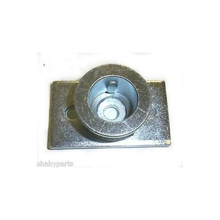 Uchwyt listwy Partner 553CM | Husqvarna R53 | Craftsman 53-56cm - wał 25,4