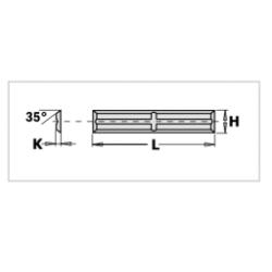 CMT Płytka HM 50x5,5x1,1mm...
