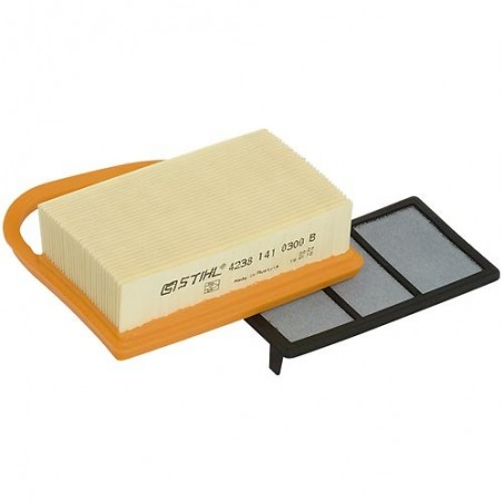 Oryginalny zestaw filtrów powietrza do Stihl TS410 TS420 - 4238 140 4403