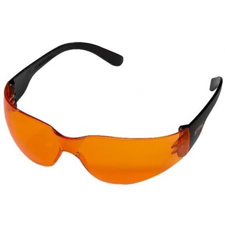 Okulary ochronne STIHL LIGHT POMARAŃCZOWE